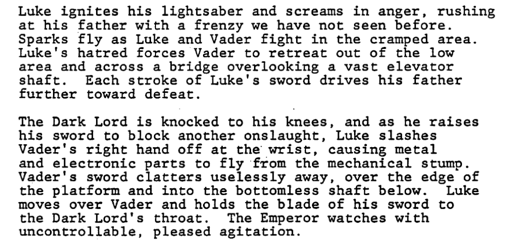 Apart From The Emotion Detail Focus On Plot Needs Luke Winning Fight Moving Toward Elevator Shaft Which Comes Into Play Later